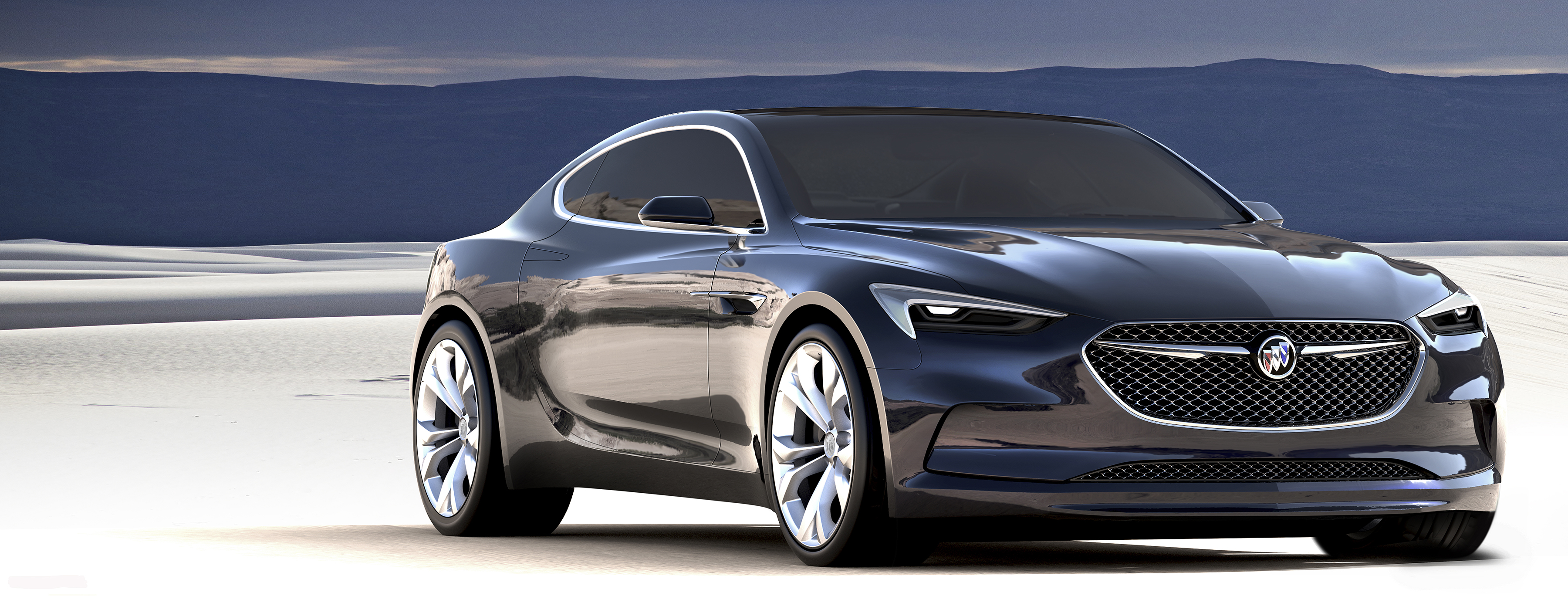 2016 NAIAS Buick Unveils Stunning New Coupe The Avista Pursuitist
