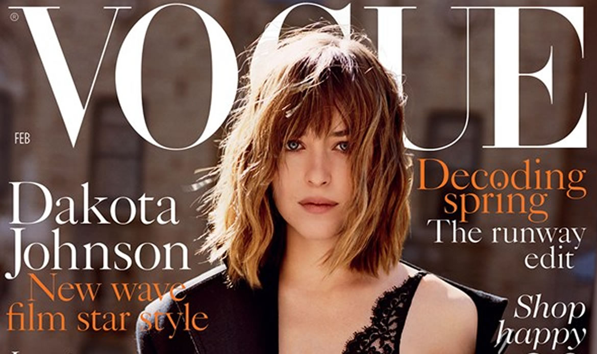 Dakota Johnson Fronts British Vogue