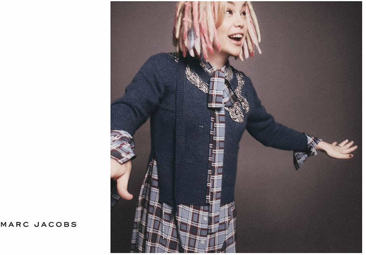 Lana Wachowski Stars In Marc Jacobs Spring Summer 2016 Campaign