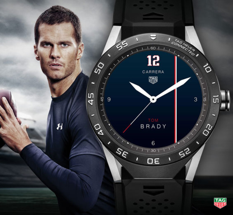 Tom Brady And Cristiano Ronaldo Design Tag Heuer Connected