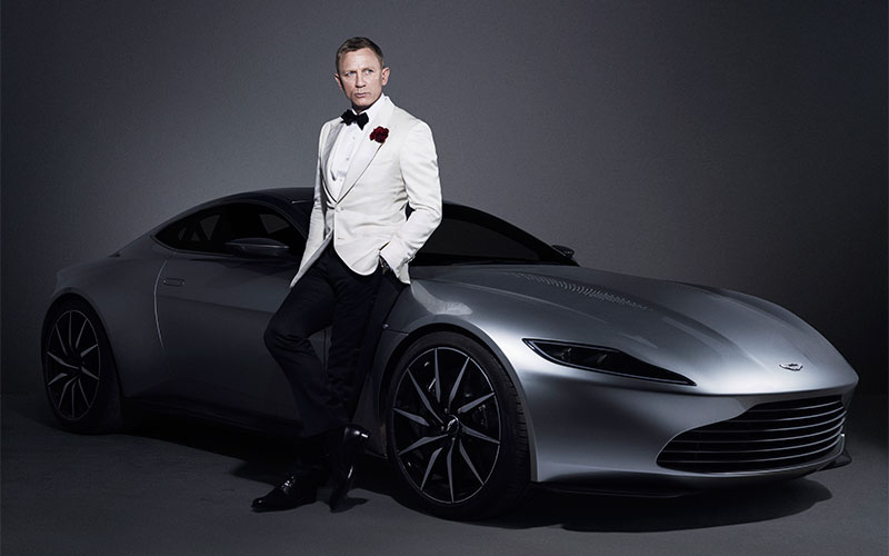 Own James Bond's Aston Martin DB10