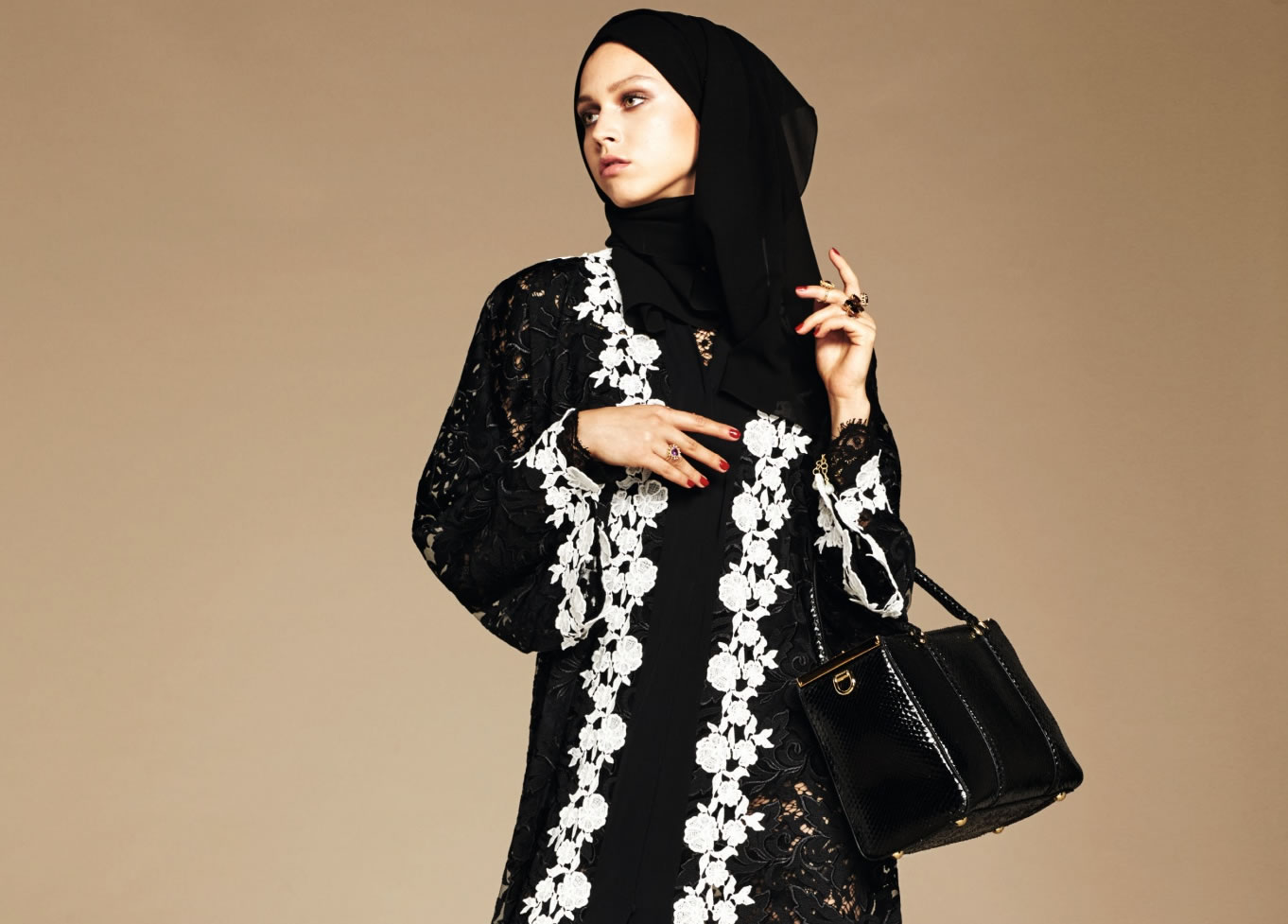 Dolce & Gabbana Debuts Abaya Collection