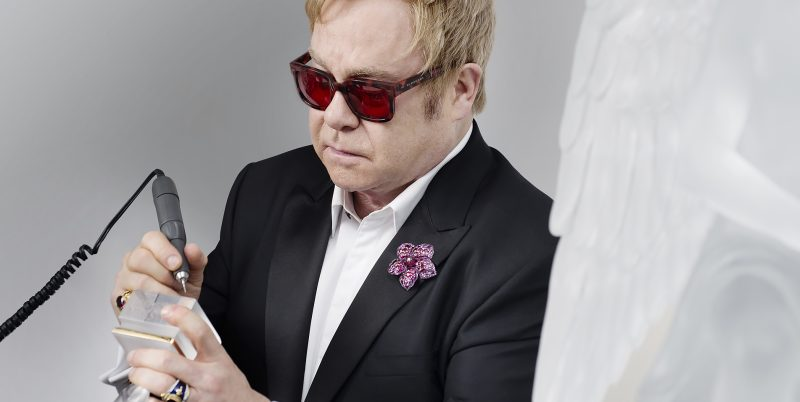 elton john for lalique