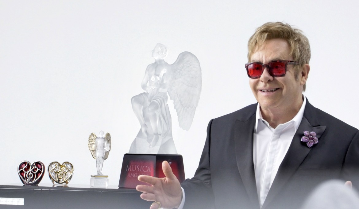 "Lalique x Elton John's ""Music Is Love"" Crystals Are Stealing Many Hearts This Valentines"