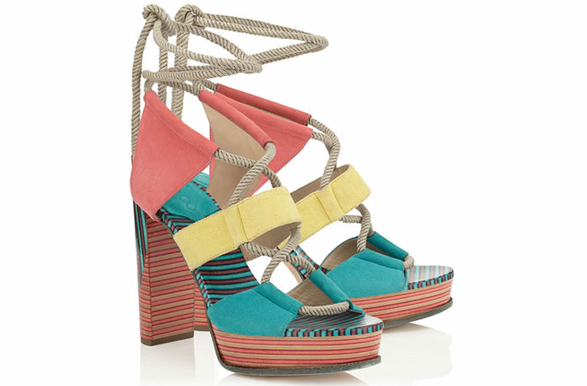 a727eb48229 Jimmy Choo Spring 2016 Footwear Adds Upbeat Style To Every Step ...