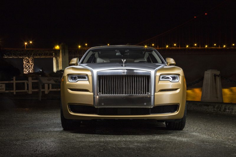 A Gold Rolls Royce For The Golden Anniversary Of The Big