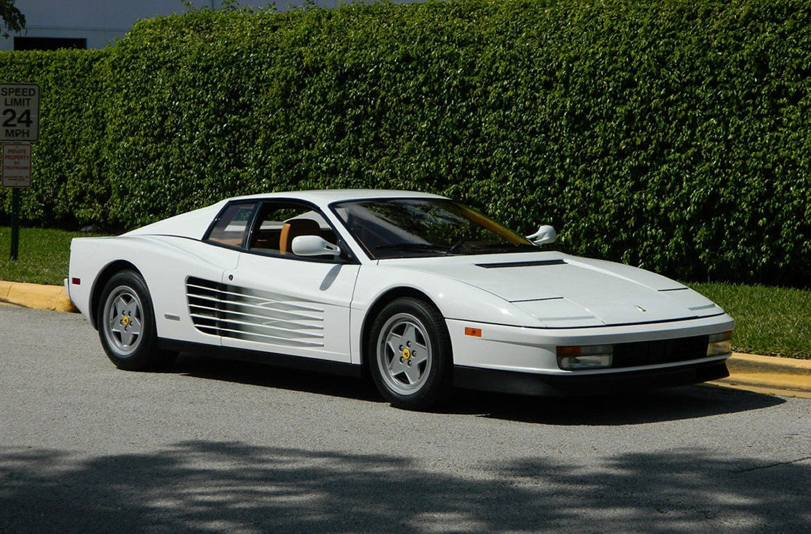 The Wolf Of Wall Street Jordan Belforts Ferrari Testarossa Is Up - The wolf of wall streets ferrari is now up for sale