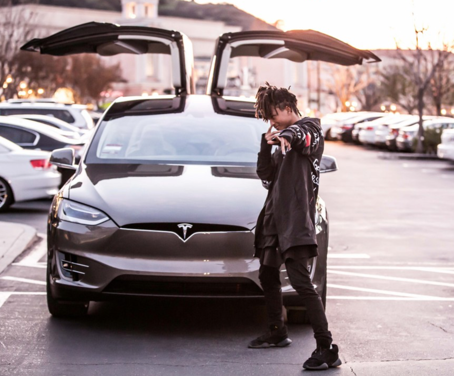 First Tesla Model X Purchased By Jaden Smith Pursuitist