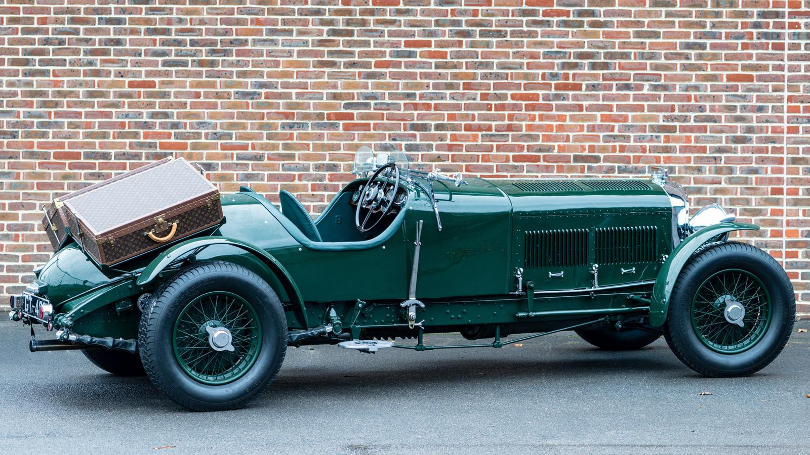Rare Bentley With Vintage Louis Vuitton Luggage Is Up For