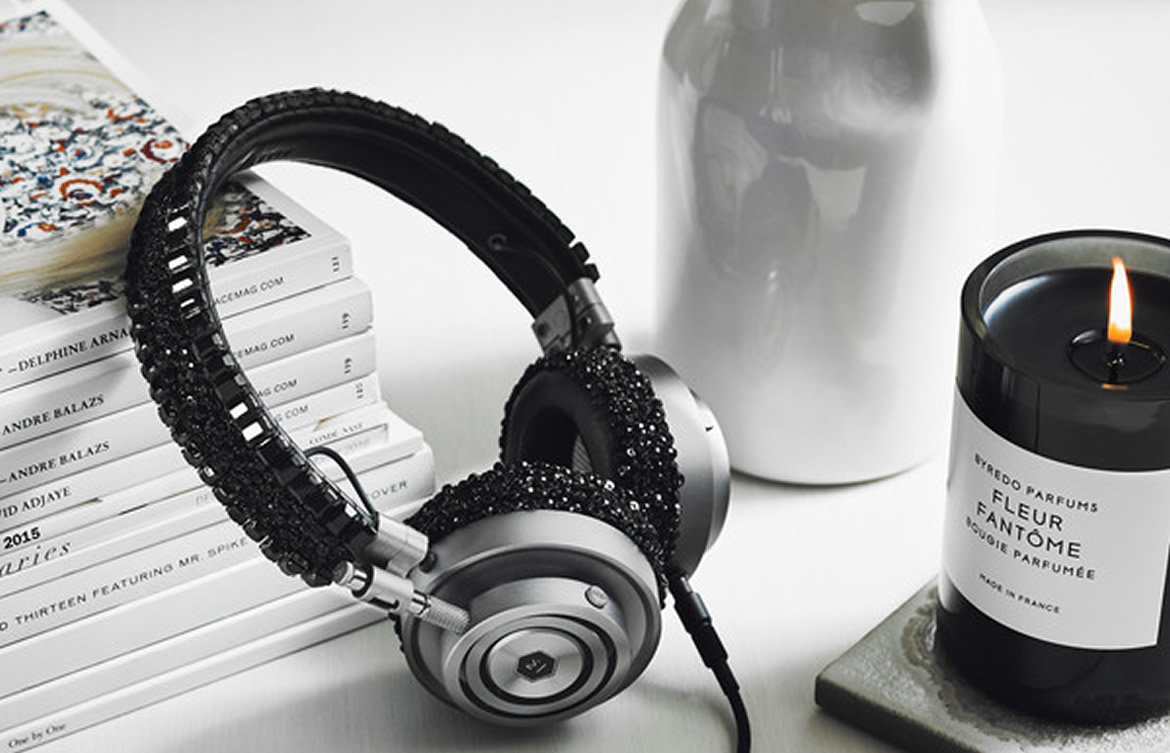 $1000 Headphones From Master & Dynamic And Carolyn Rowan