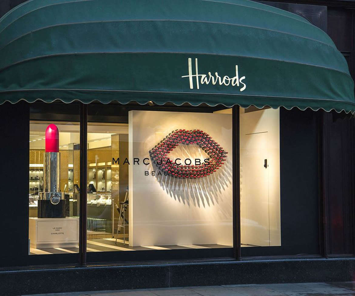 Marc Jacobs Beauty Marks Uk Debut At Harrods With A