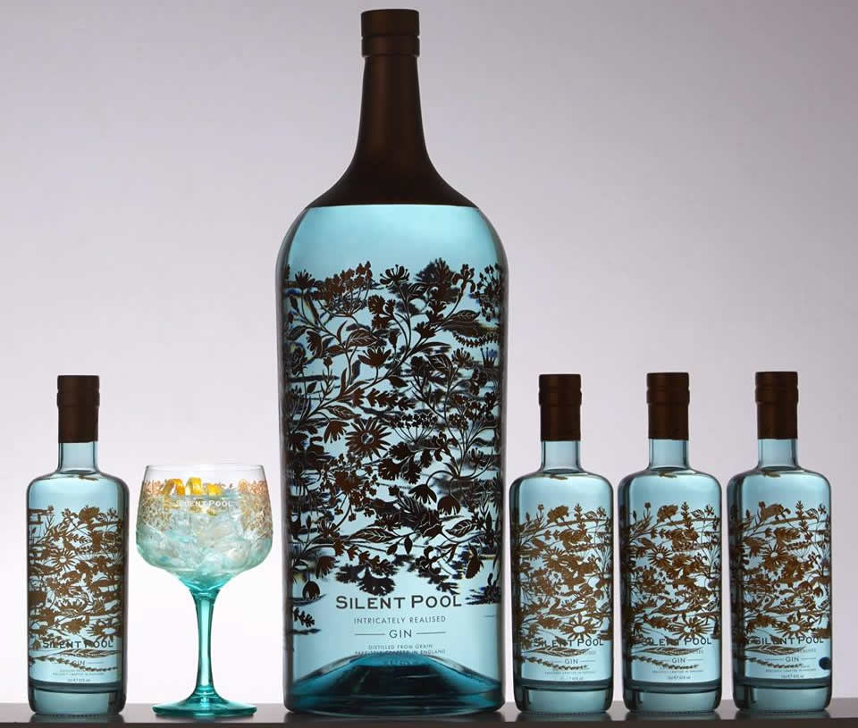 The World's Largest And Most Expensive Bottle Of Gin Worth $7,000 Unveiled