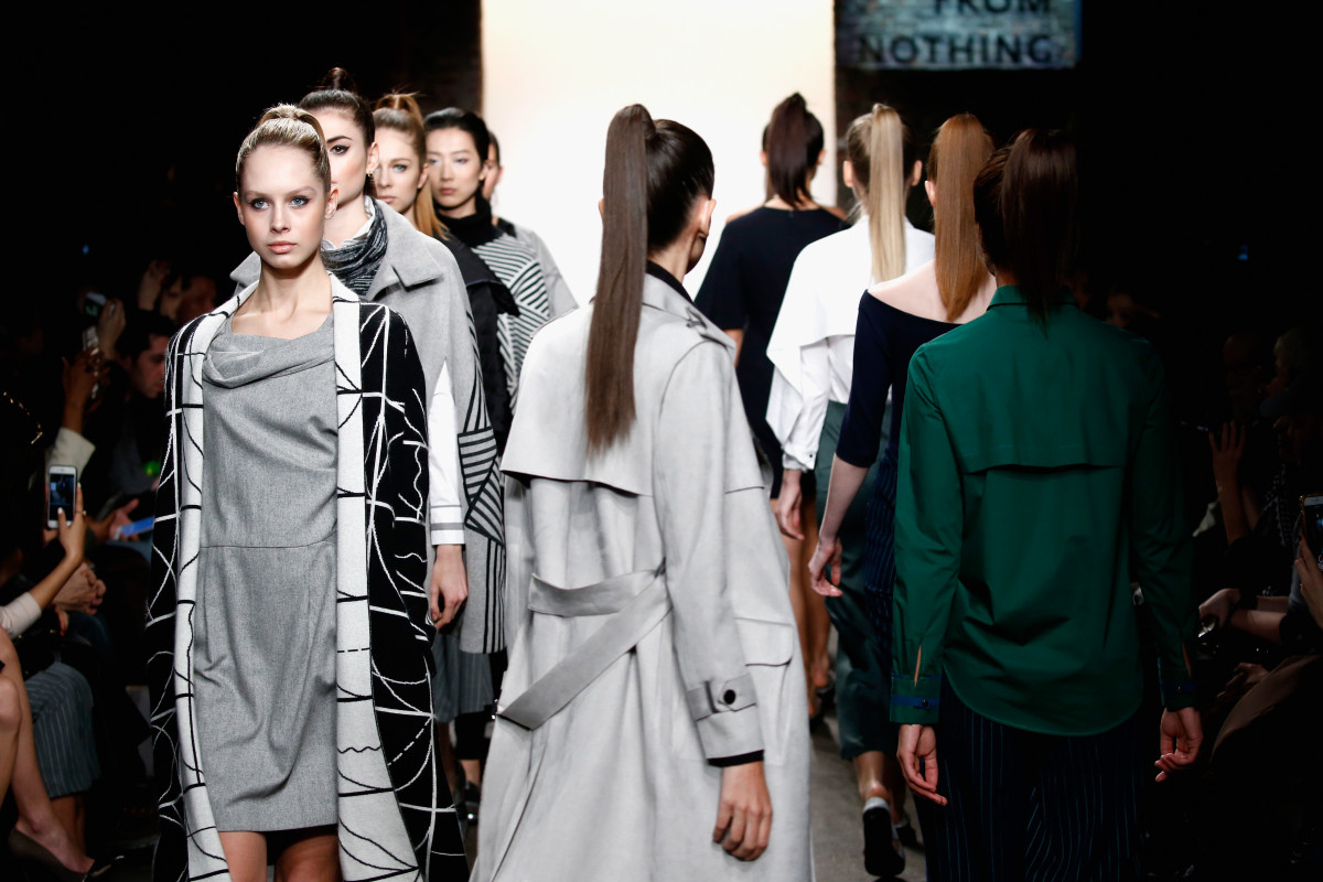 Newest Line 'All Comes From Nothing' Makes NYFW Debut
