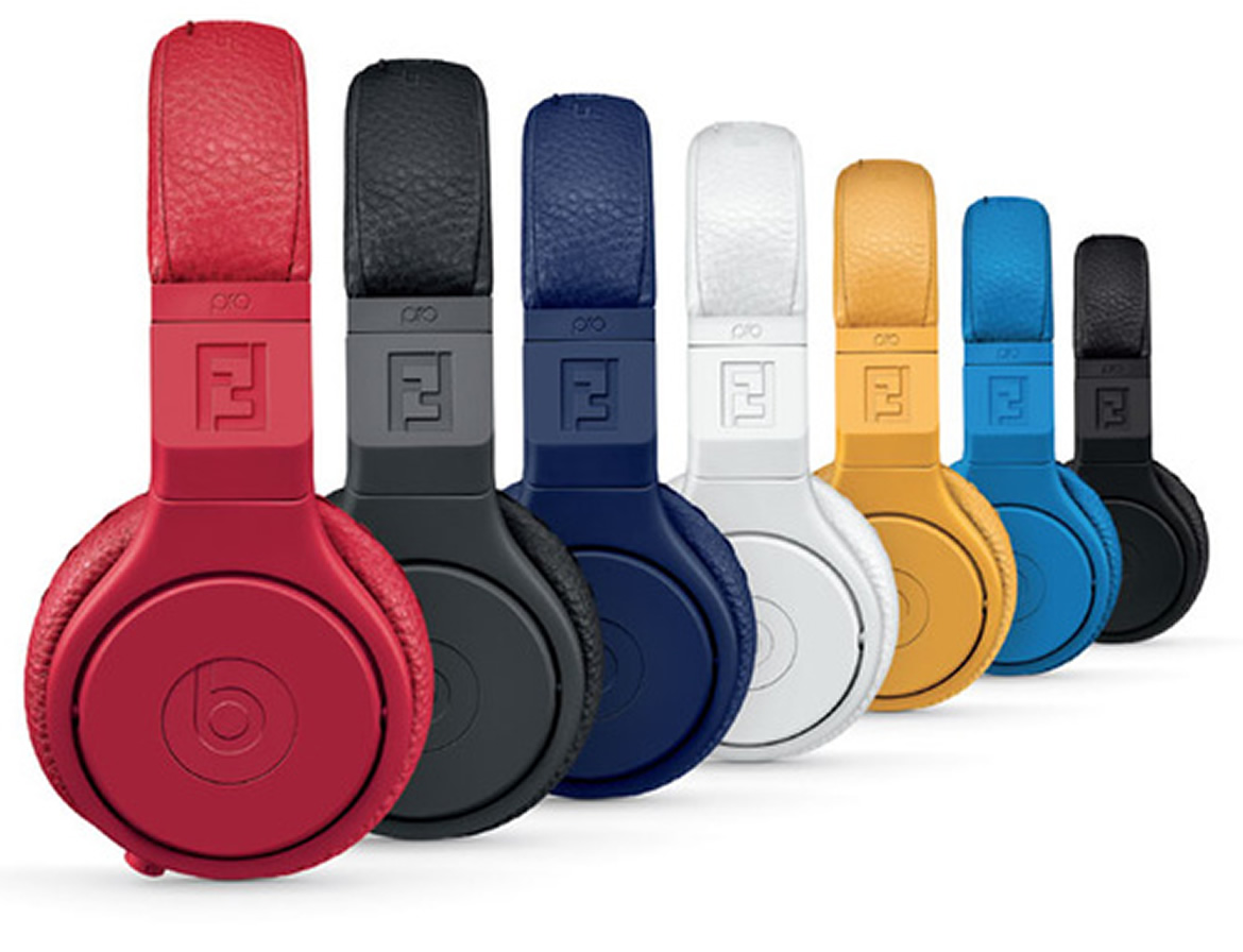 Fendi And Beats Special Edition Headphones Celebrate Milan Fashion Week