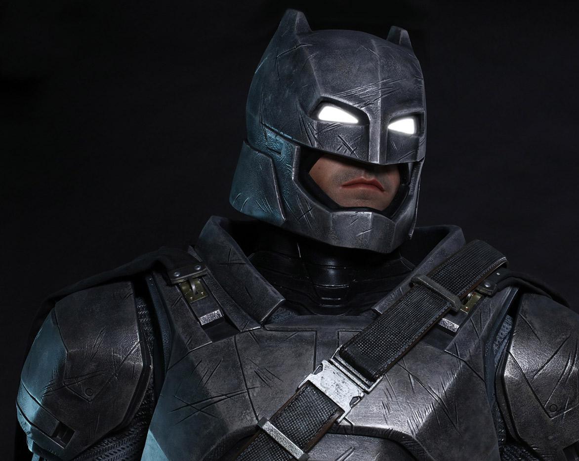 Armored Batman Life-Size Statue Is Up For $8,000 - Pursuitist