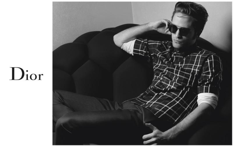dior-homme-Robert Pattinson_karl_lagerfeld
