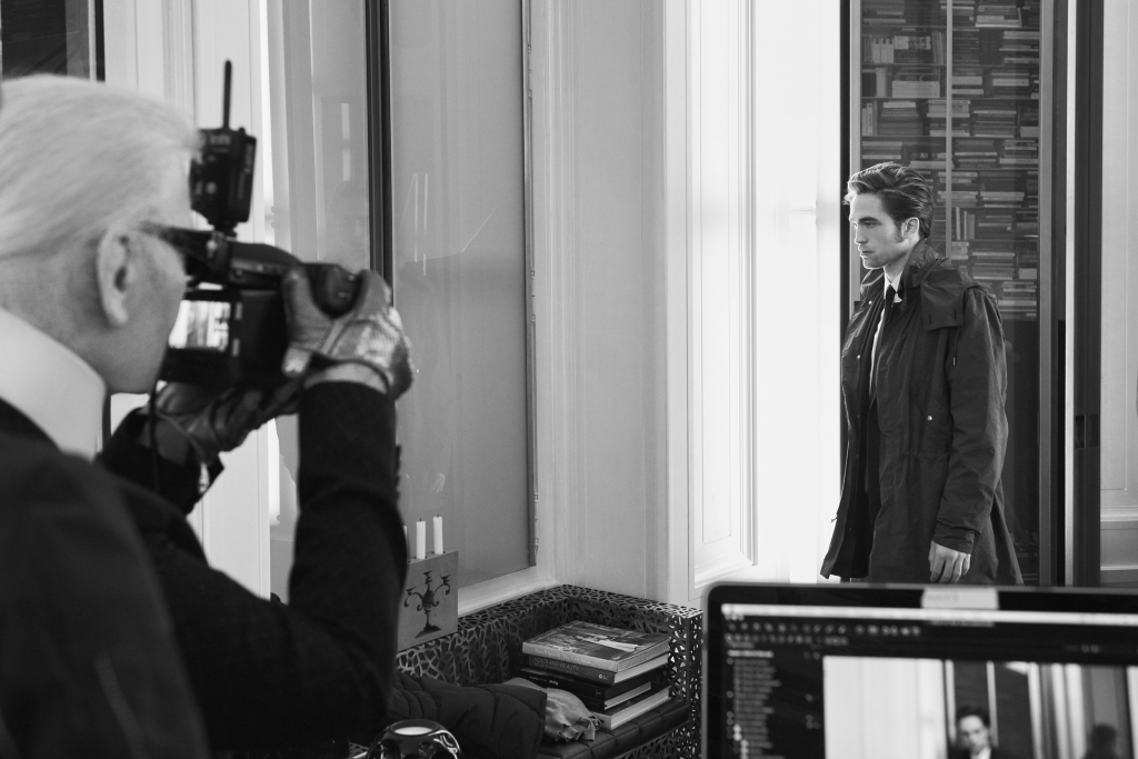 Robert Pattinson Captured By Karl Lagerfeld  For Dior Homme Fall 2016 Campaign