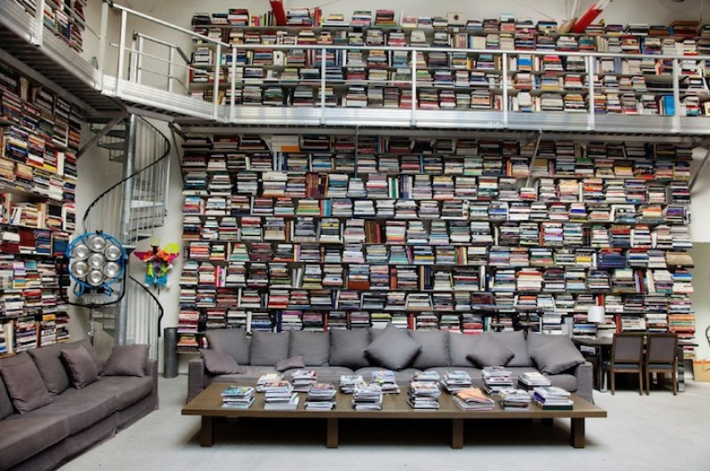 Sneak Peek Inside Karl Lagerfelds Private Library Pursuitist