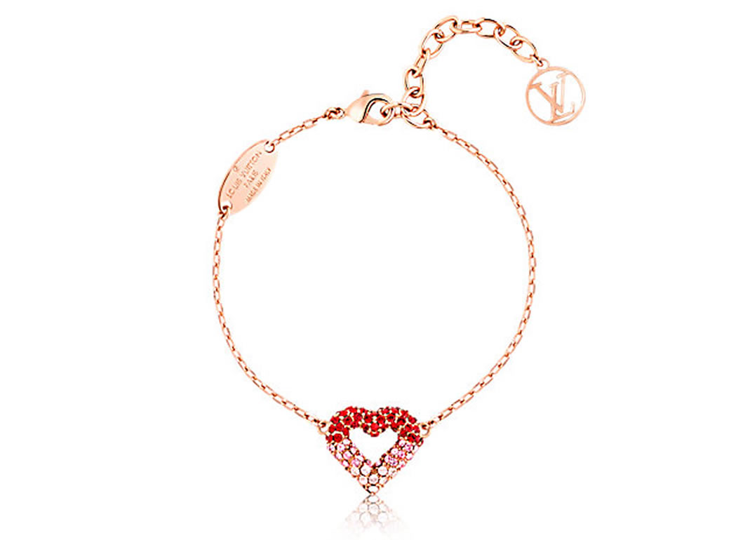 Say I Love You With Louis Vuitton's V For Valentine's Day Jewelry