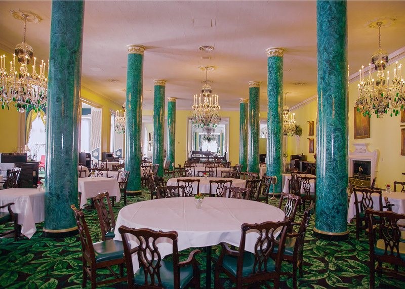 The Main Dining Room at The Greenbrier