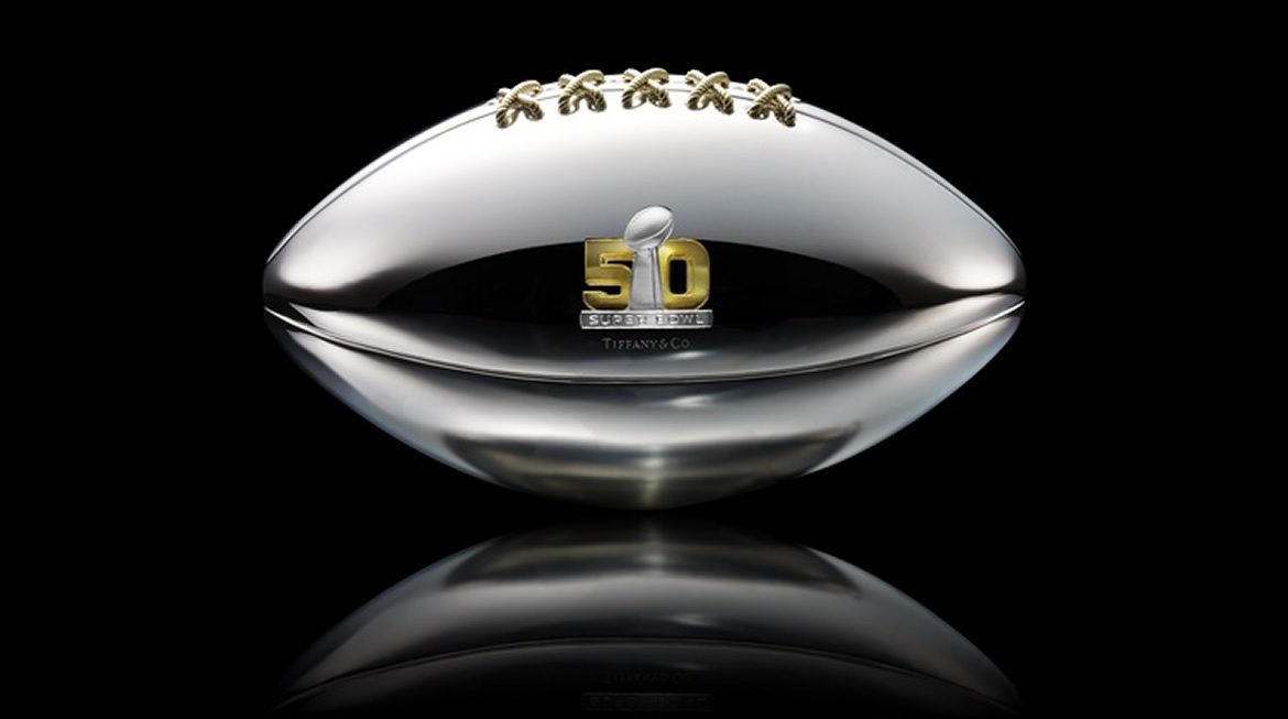 Tiffany Silver Football Designed For Super Bowl 50 Is Up For Grabs