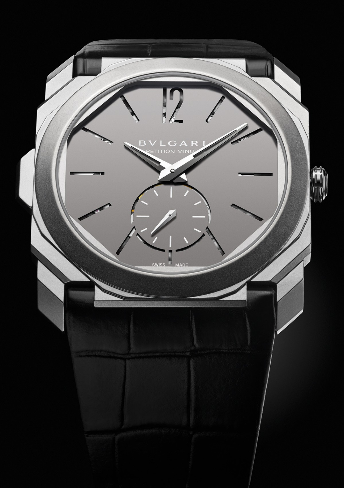 Bulgari Unveils World's Thinnest Minute Repeater Watch