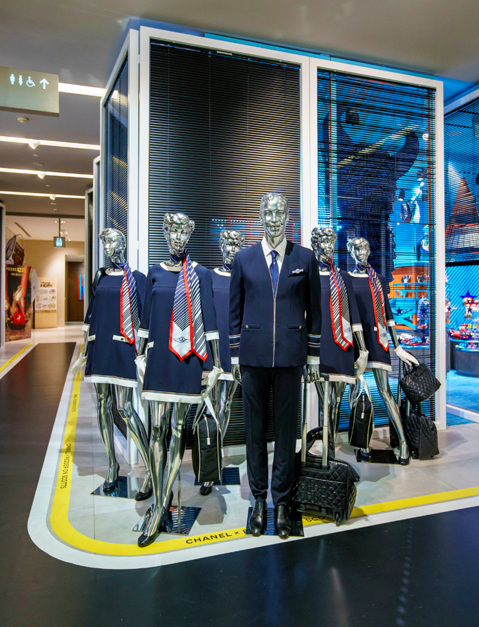 Chanel Airline-Themed Pop-up Lands At Pedder on Scotts, Singapore