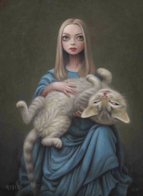 Cat_Art_Show_2_Mark_Ryden_Amanda