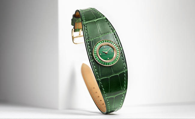 Hermès Unveils Faubourg Manchette Joaillerie, Slim d'Hermès Pocket Panthère And Pocket Plein Cuir At Baselworld 2016
