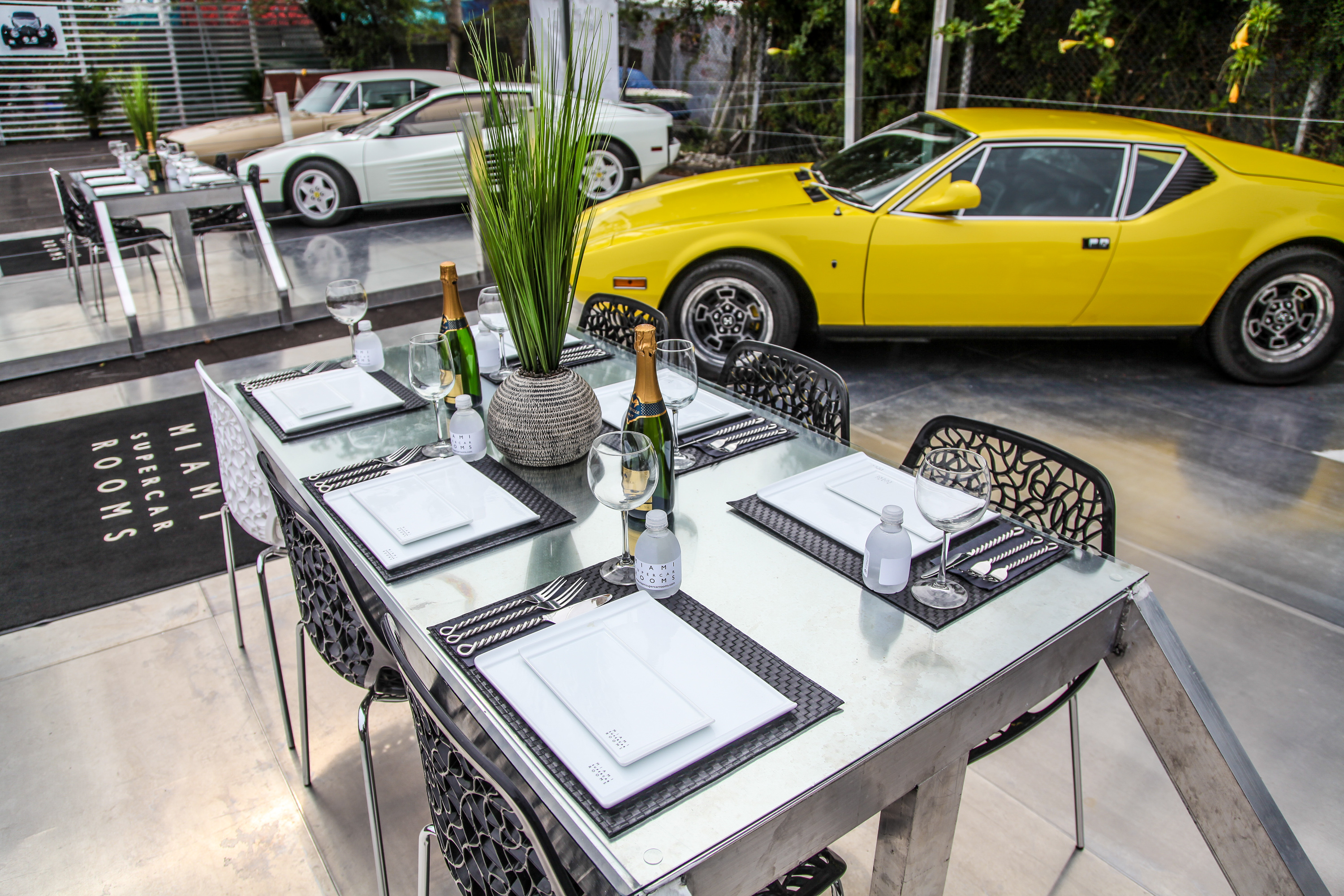 Cars And Cuisine: Miami Supercar Rooms - Pursuitist