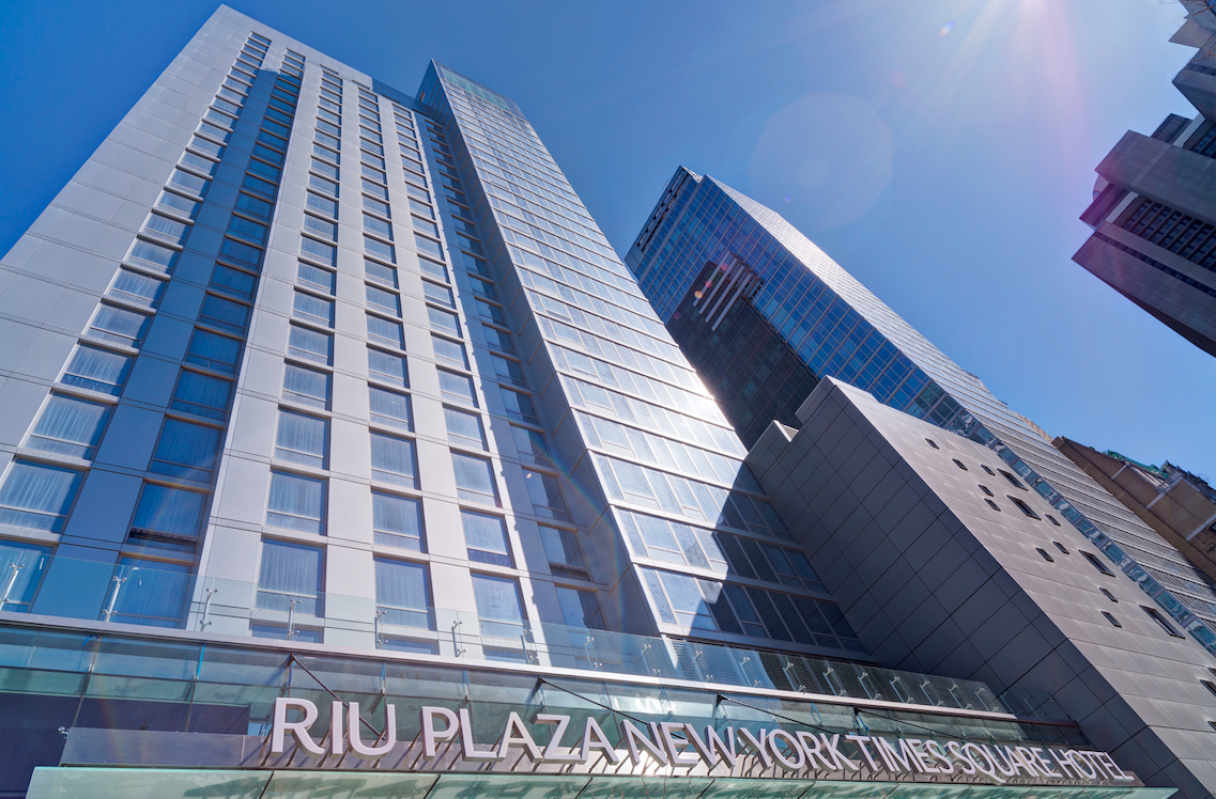 RIU Opens First Hotel in New York City