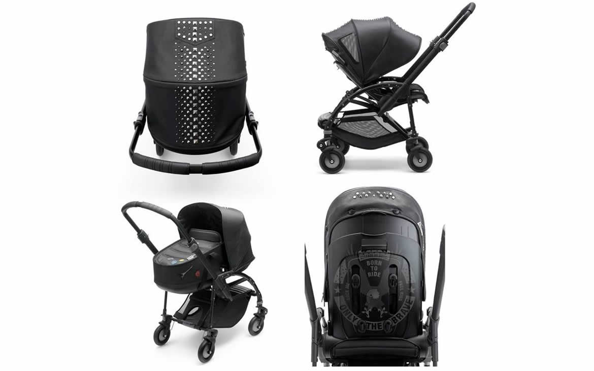 Bugaboo by Diesel Rock Collection Rolls Out A Rocking Stroller