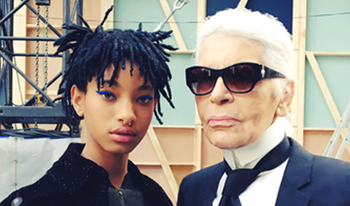 Karl Lagerfeld Picks Willow Smith As The New Face Of Chanel