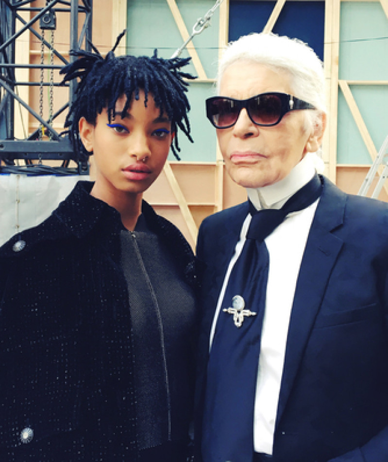 chanel-willow-smith-and-karl-lagerfeld