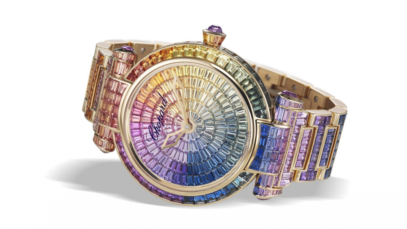 Chopard Imperiale Joaillerie Watch Shines Like A Rainbow At Baselworld 2016