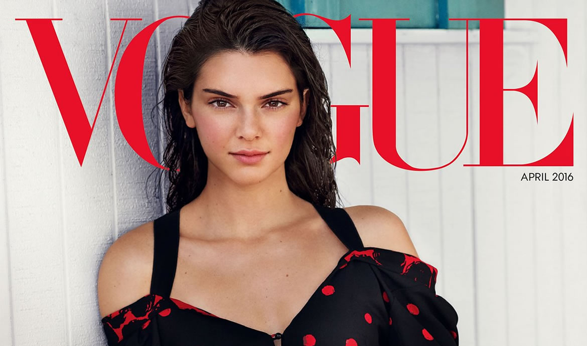 Kendall Jenner Is The Star Of Vogue's Special Issue