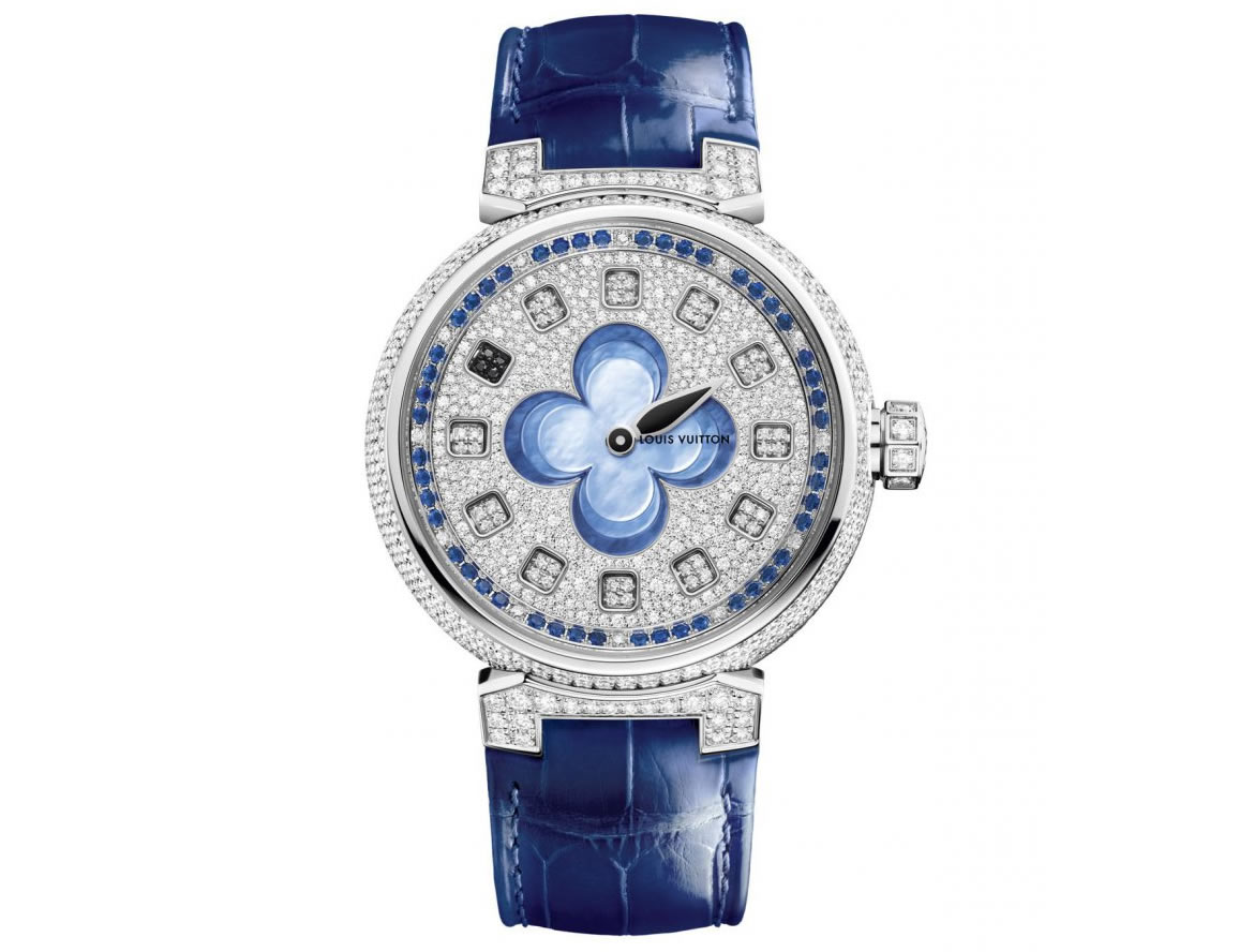 Louis Vuitton Blossom Monogram Flower Watches Welcome Spring On Time