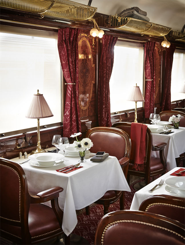 A Gourmet Meal Awaits Diners On Board La Table Orient Express4