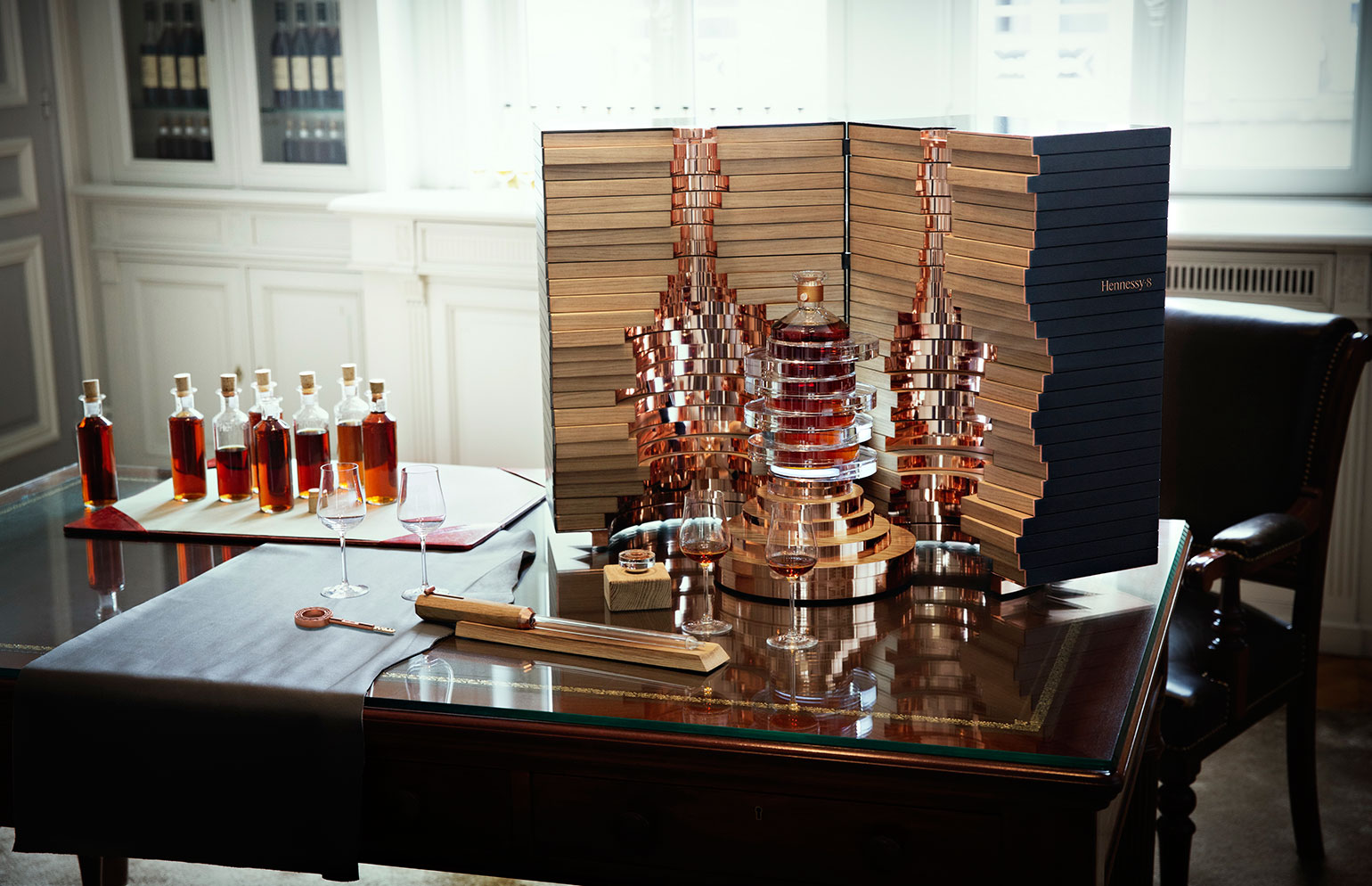 Arik Levy Design Limited-Edition Hennessy Cognac Bottle