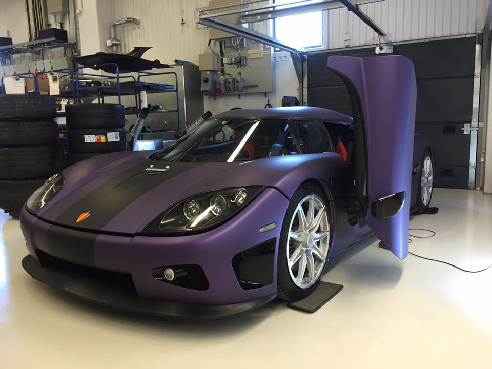 Koenigsegg Lila Regera In Purple Pays Tribute To Prince