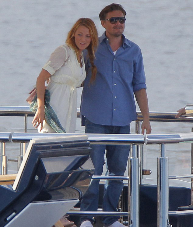 Leonardo DiCaprio and Blake Lively