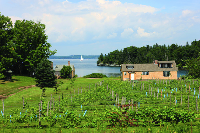 Maine's Nautilus Island, Your Own Private Island