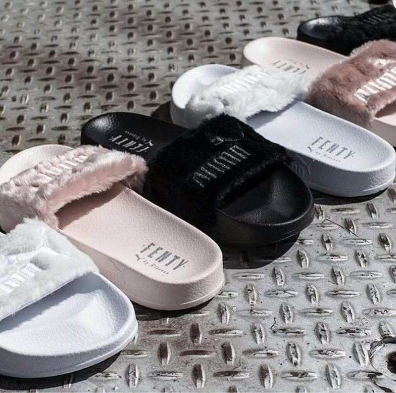 Rihanna Adds New Fur Slide To Fenty x Puma Range Pursuitist
