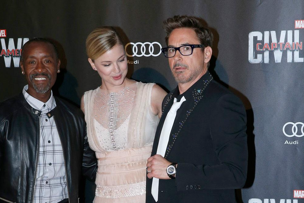 Robert Downey Jr. Wears Jaeger-LeCoultre Watch To Captain America: Civil War Premiere