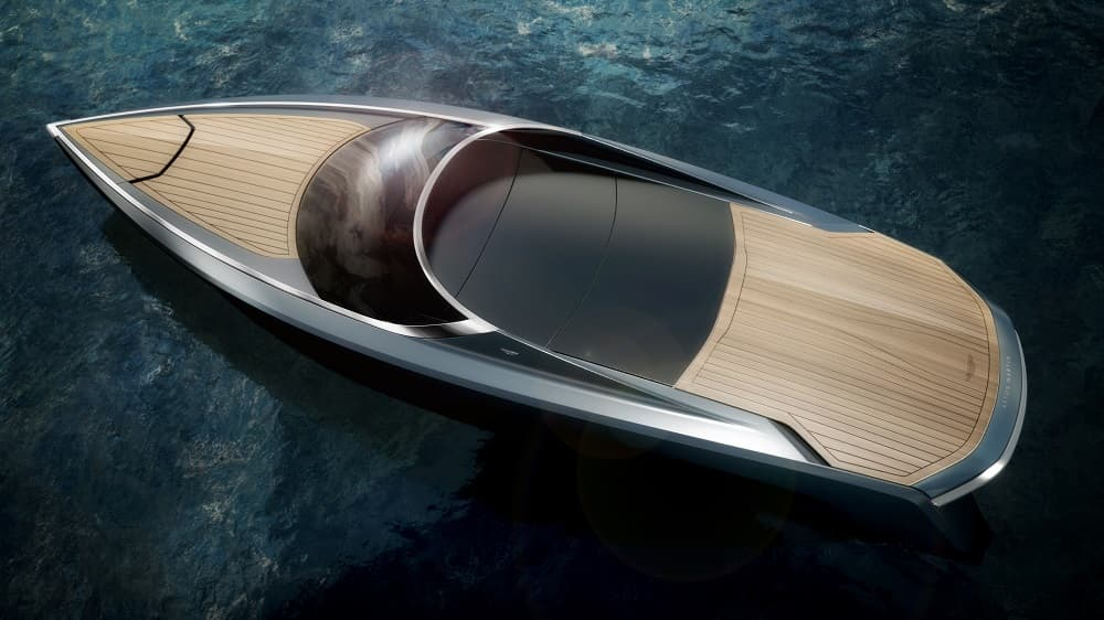 Aston Martin AM37 Powerboat Unveiled At The 55th Salone del Mobile