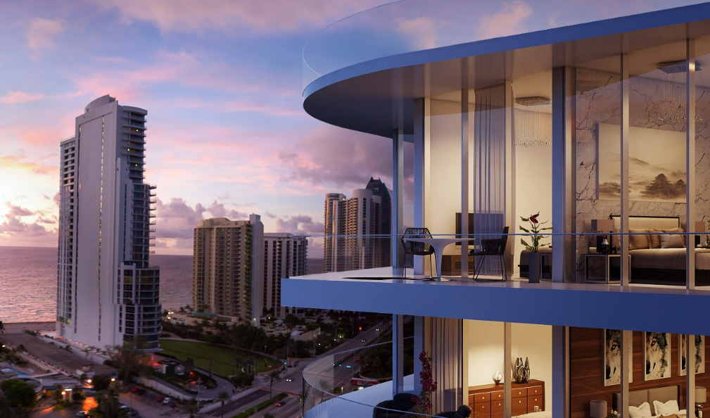 A Condo At Sunny Isles Beach Comes With Private Jet Charter Membership