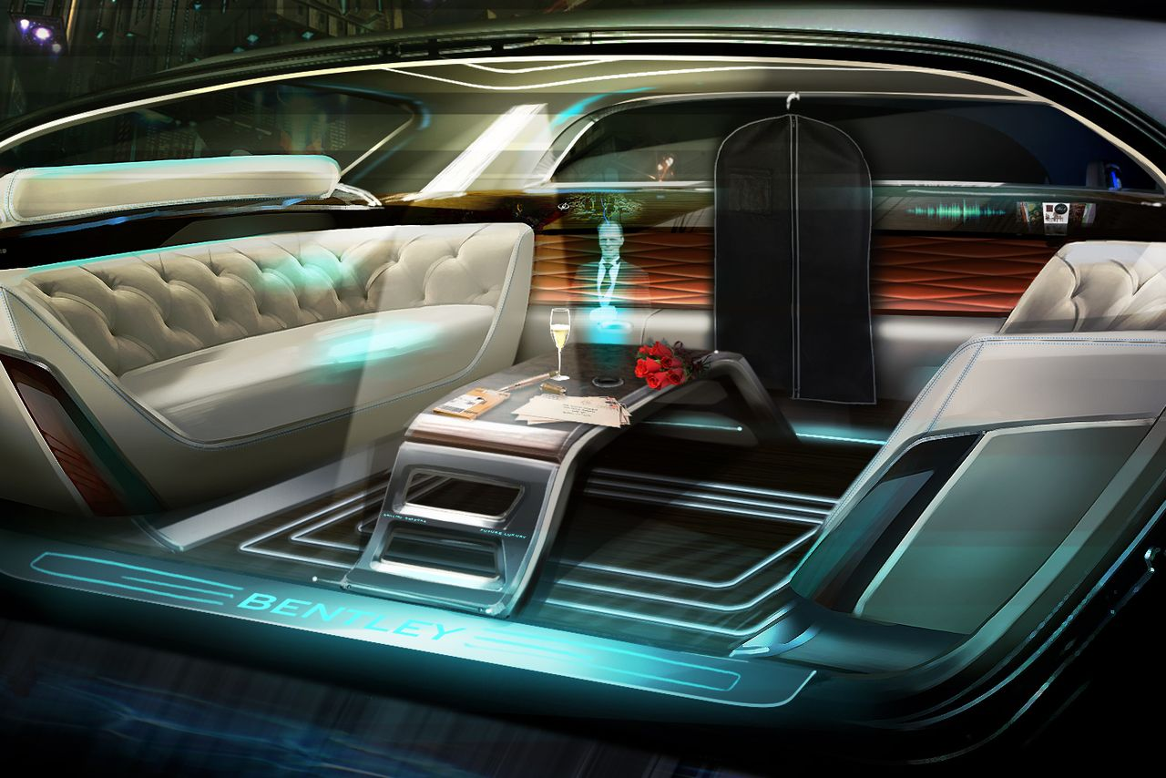 Buckle up with a Holographic Butler: Bentley's Plans for AI-Enhanced Driving