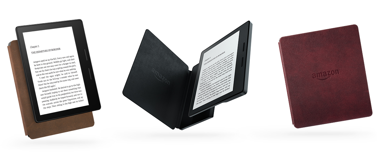 The New Kindle Oasis