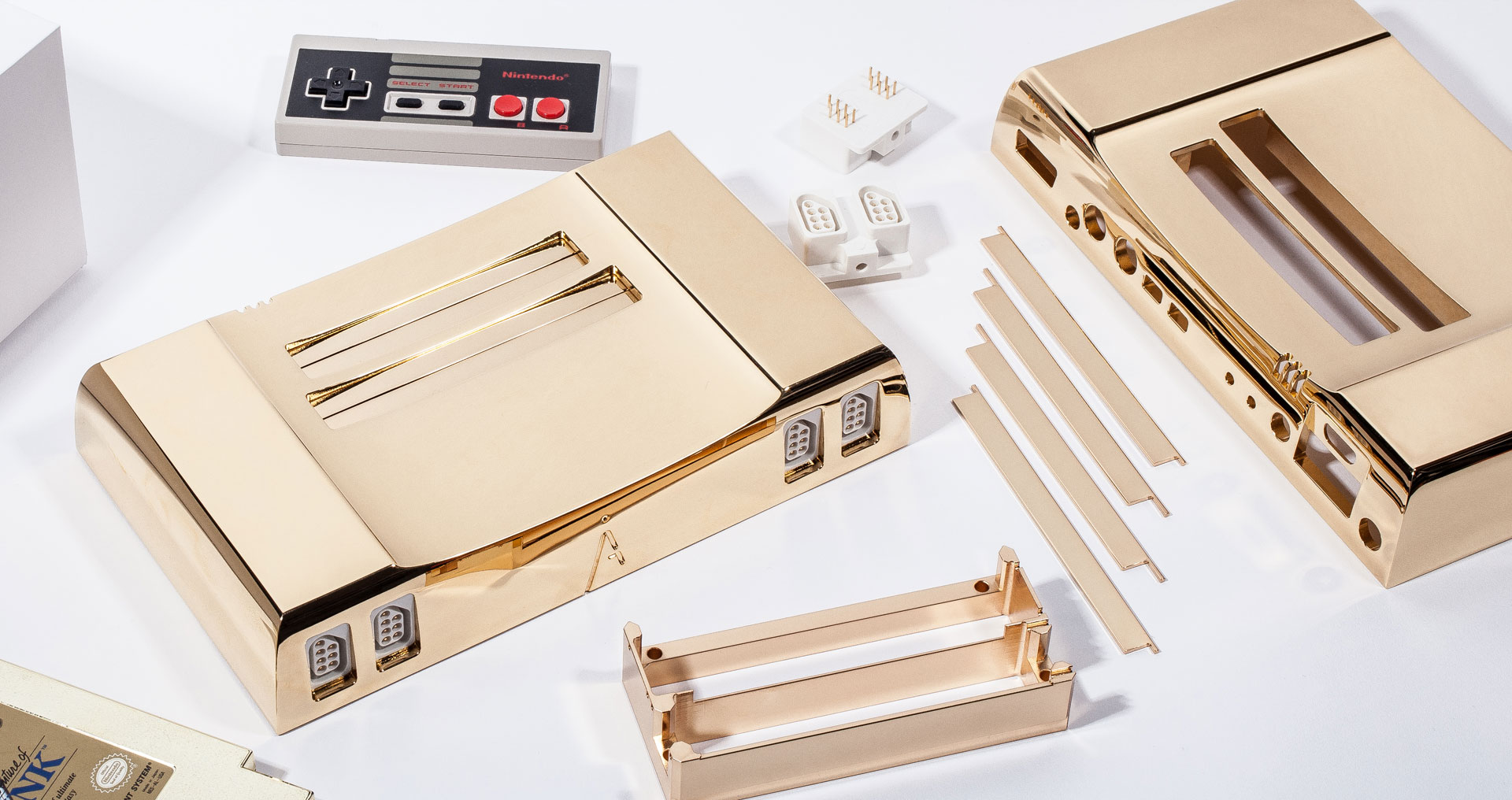 24K Gold NES Celebrates the 30th Anniversary of the Legend of Zelda