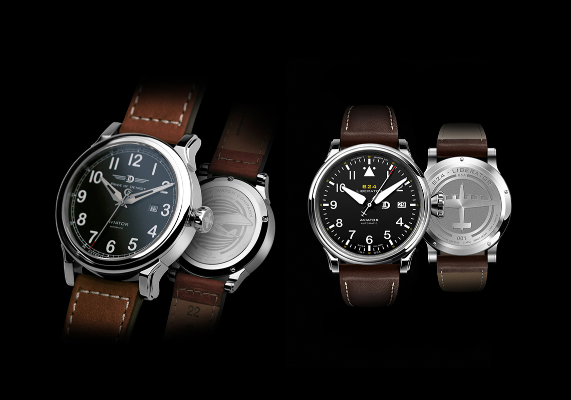 Detroit Watch Company's Aviator Collection